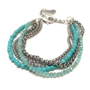 Ladies Mikoni Multi strand Sea Queen Bracelet